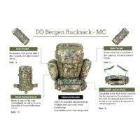 DD Bergen Rucksack - MC hátizsák