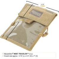 Maxpedition Traveler Passport/ ID Carrier ( Fekete)