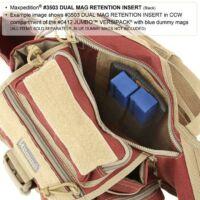 Dual Mag Retention Inser - Fekete