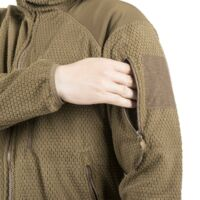 Helikon - Tex ALPHA HOODIE kabát - Grid Fleece