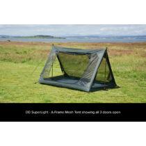 DD SuperLight - A-Frame - Mesh Tent - Olive green