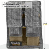Maxpedition Hook-&-Loop Double Sheath Insert, Khaki-Foliage