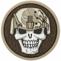 Maxpedition Soldier Skull Patch  (Arid)