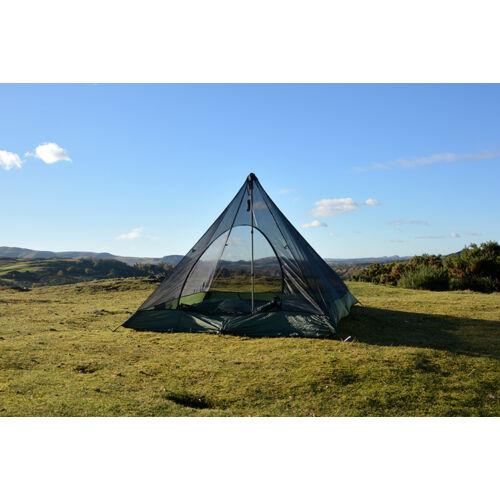 DD SuperLight - piramis hálós sátor - Olive Green