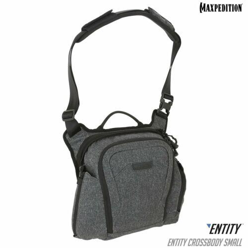 Maxpedition ENTITY Crossbody Bag (Small) (Charcoal)