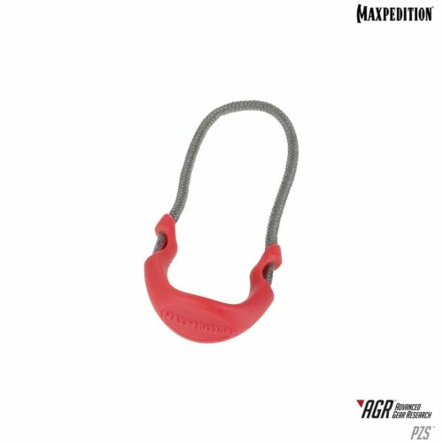 Maxpedition Small Zipper Pulls (Pack of 6) (EMS Red)