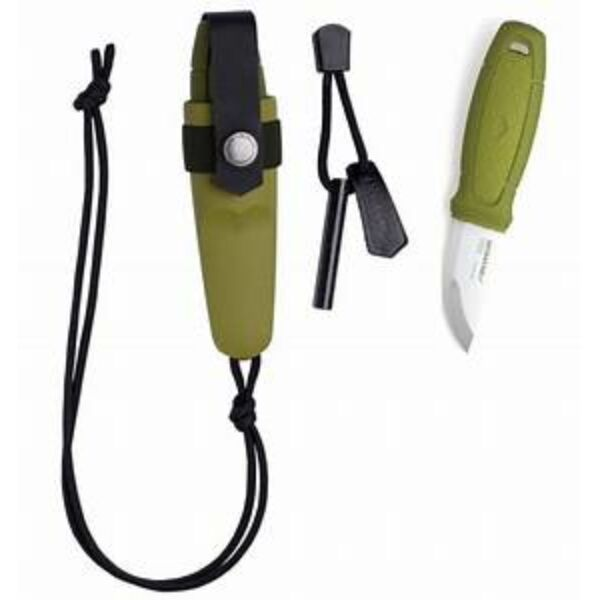 Morakniv® Eldris nyak kés - rozsdamentes acél - zöld (ID 12633)