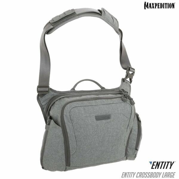 Maxpedition ENTITY Crossbody Bag (Large) (Ash)