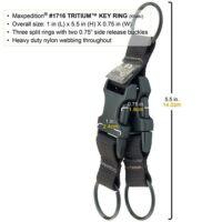 Maxpedition Tritium™ kulcstartó
