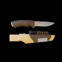 Morakniv® Bushcraft Survival Desert kés - rozsdamentes acél - homok (ID 13033)