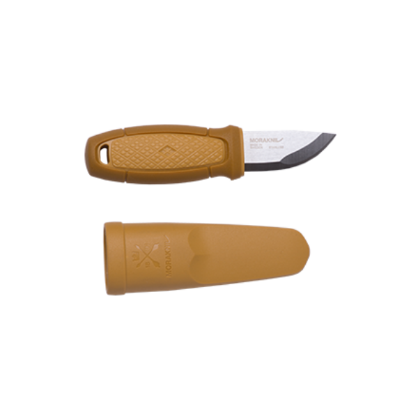 Morakniv® Eldris kés - rozsdamentes acél - sárga (ID 12650)