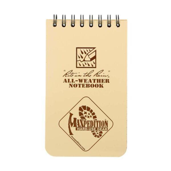 """Maxpedition 3""""x 5"""" Rite in the Rain vízálló jegyzetfüzet"""