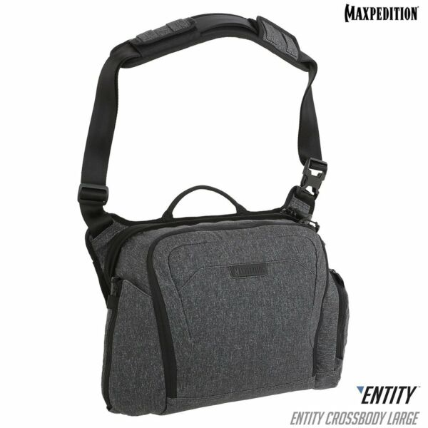 Maxpedition ENTITY Crossbody Bag (Large) (Charcoal)