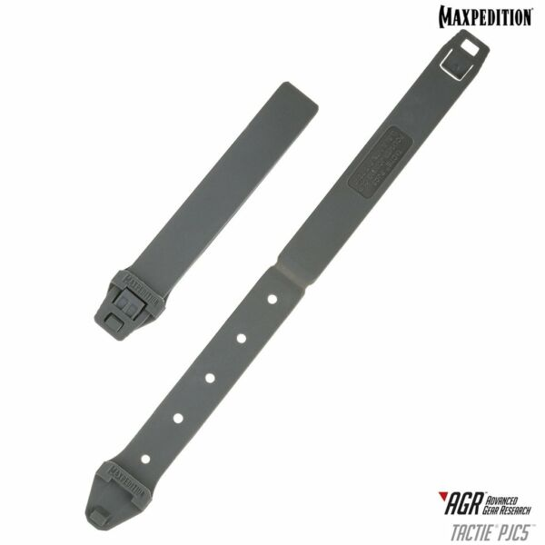Maxpedition TacTie® PJC5™ (Pack of 6) (Gray)